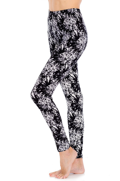 Abstract Pattern Print Leggings