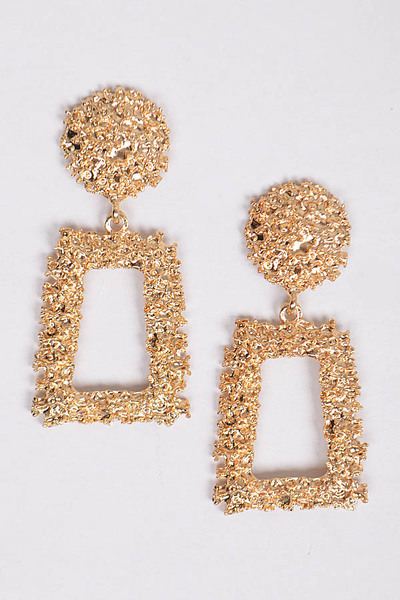 Hammered Day to Day Earrings