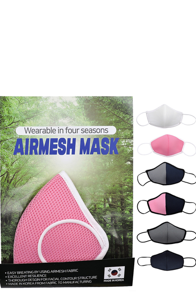 Airmesh Mask 6pcs Set