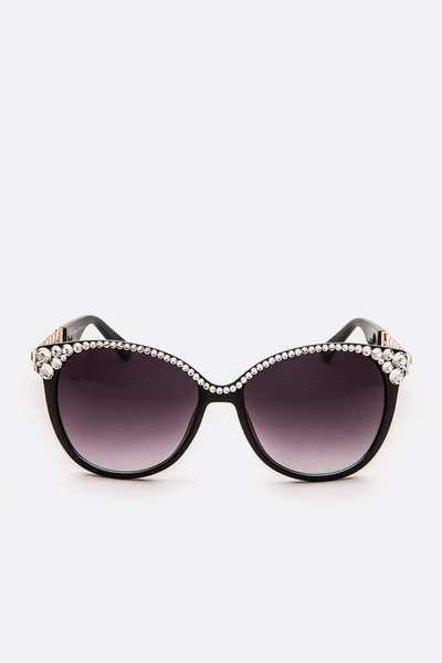 Austrian Crystal Iconic Sunglasses