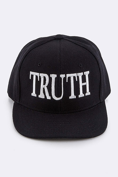 TRUTH Iconic Embroidered Fashion Cap
