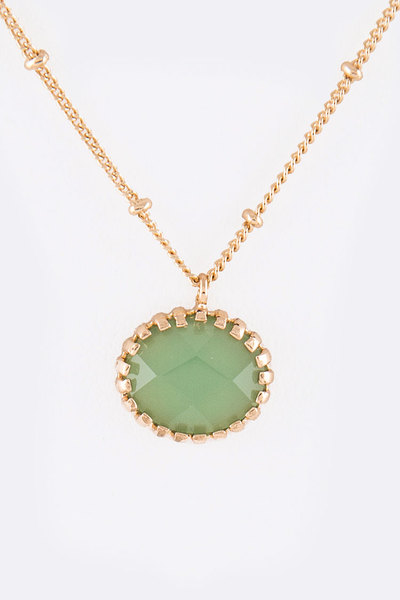 Genuine Quartz Layer Dainty Necklace