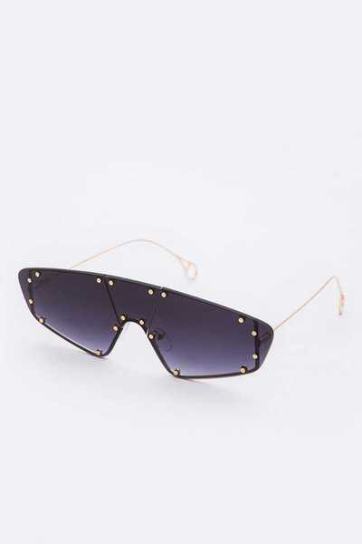 Studs Shield Inspired Iconic Sunglasses Set