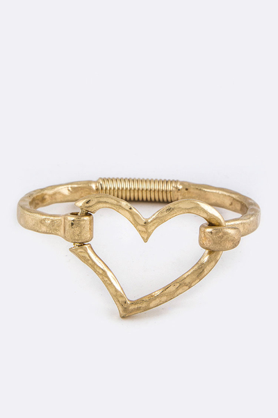 Heart Hook Bangle