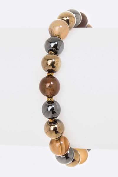 Mix Beads Stretch Bracelet