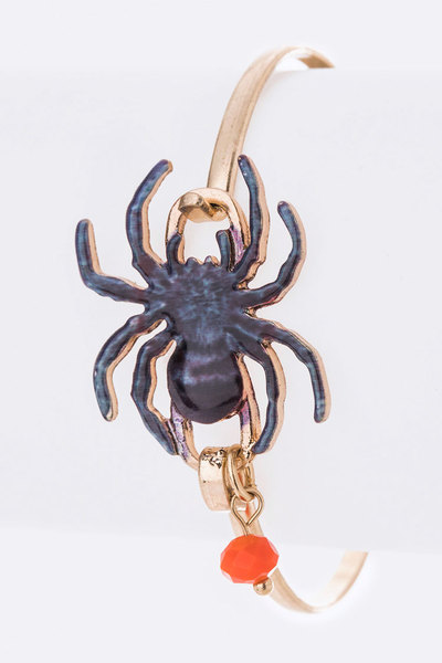 Black Spider Iconic Bangle
