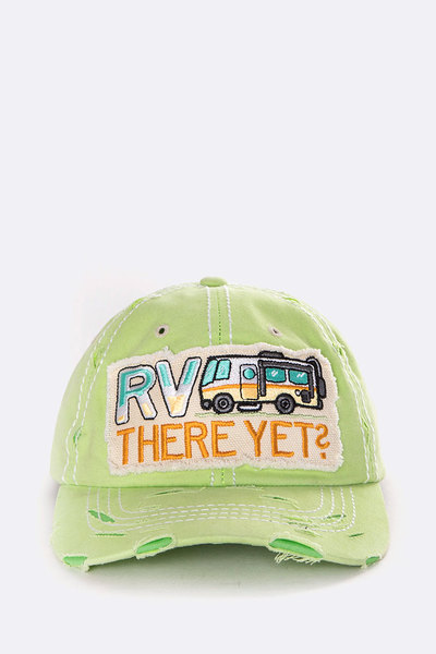 RV There Yet Iconic Wash Cap