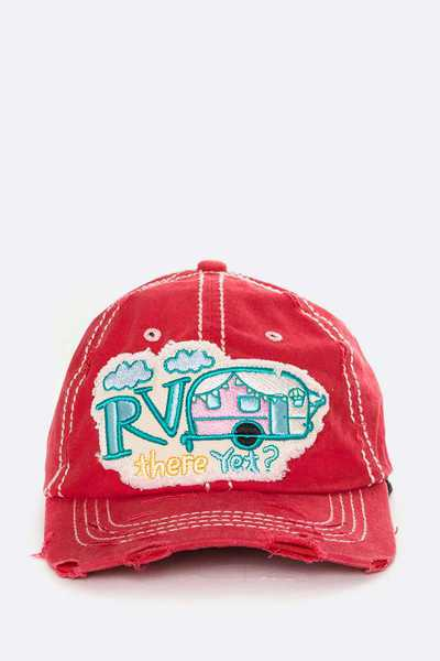 RV There Yet Iconic Embroidered Cotton Cap