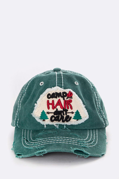 Camp Hair Don't Care Vintage Wash Cap