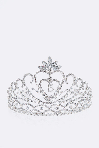 Sweet 15 Crystal Tiara