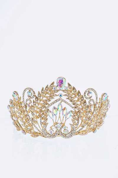 Leaf Crystal Iconic Tiara