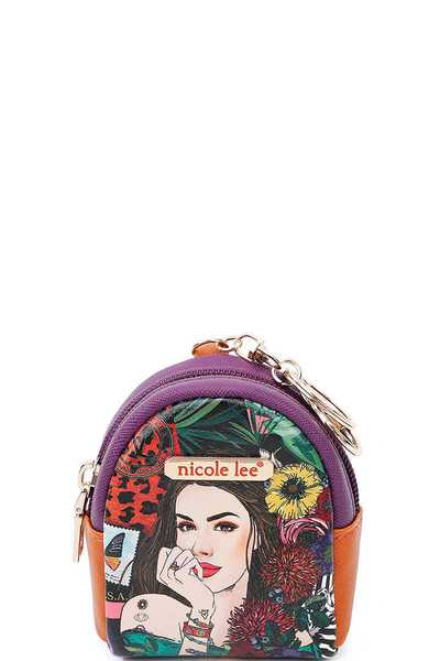 NICOLE LEE KEYCHAIN MINI BACKPACK COLLECTION