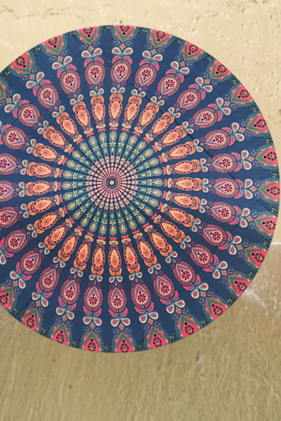 Mandala Tapestry Convertible Picnic Throw