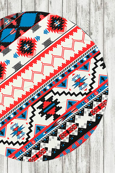 Aztec Light Weight Convertible Picnic Throw