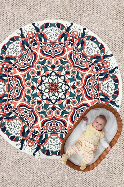 Mandala Convertible Light Weight Picnic Throw