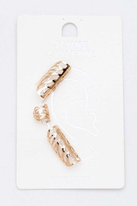 3 Pcs Ear Cuff Set