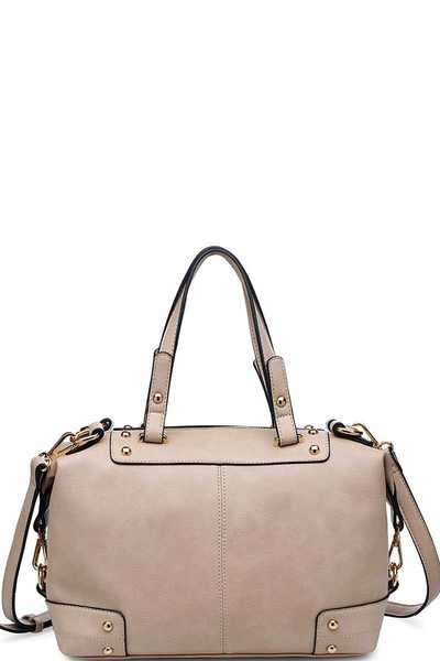 LUXURY BROADWAY SATCHEL BAG