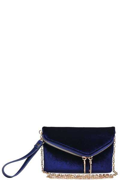 Urban Expressions LUCY VELVET CLUTCH