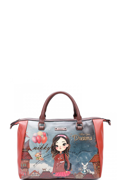 NIKKY HAILEE DREAMS BIG BOSTON BAG