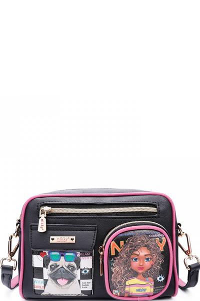 NIKKY SASHA THE CUTIE MINI MESSENGER BAG