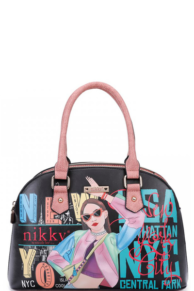 NIKKY VICKY DOES SPORTS SATCHEL BAG