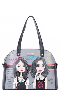 NIKKY TWIN SISTER SATCHEL BAG