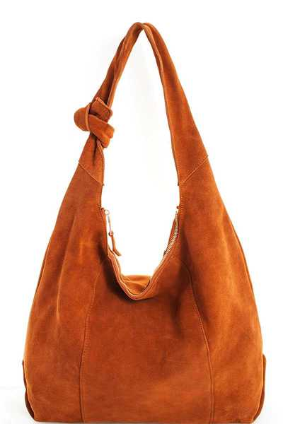 Luxury Genuine Leather Chic Hobo Bag