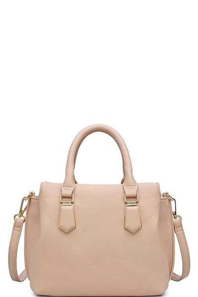LUXURY EMMYLOU SATCHEL BAG WITH LONG STRAP