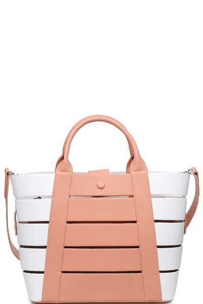 LUXURY SHILOH TOTE BAG