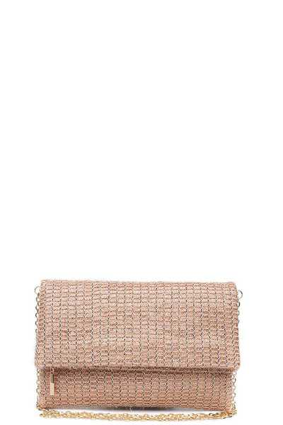 LUXURY CLEO CLUTCH BAG WITH CHAIN