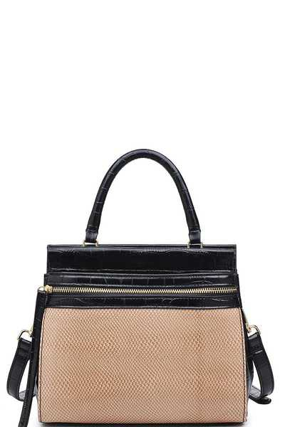 LUXURY PIPER SATCHEL BAG