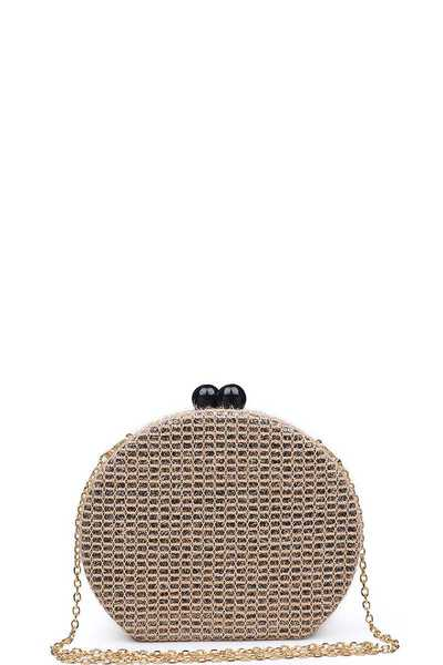 LUXURY COCO CLUTCH BAG WITH CHAIN