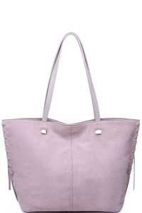 Luxury Queen Suede Tote Bag