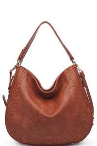 Urban Expression Pebbled Vegan Leather Hobo