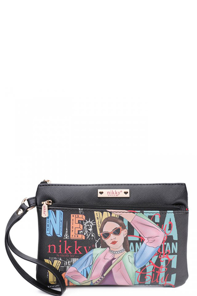 NIKKY CASUAL POUCH WRISTLET
