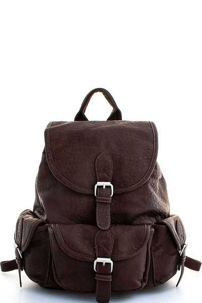 Triple 7 Street Level STRAP ACCENTED BACKPACK