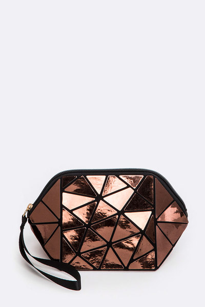 Geometric Structure Pouch