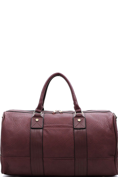 "Fashion Pebble Textured 20"" Duffle"