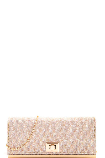 Stylish Princess Evening Party Clutch with Chain