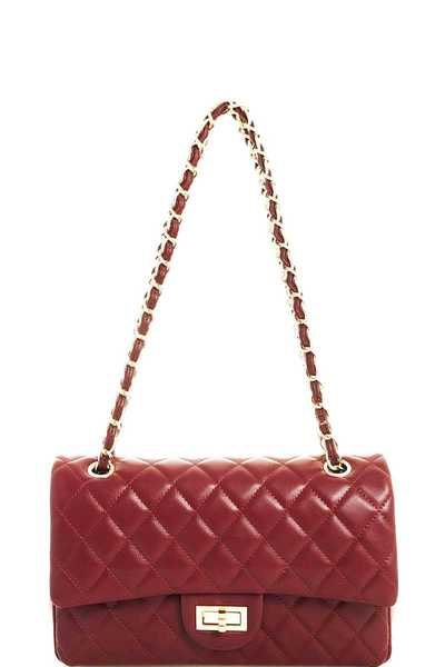 Hot Trendy Cute Satchel with Linked Chain
