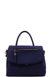 Fashion Chic Modern Cute Satchel with Long Strap