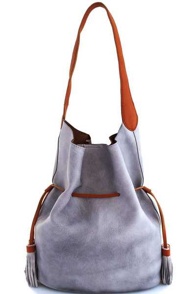 Street Level 2in1 Fashion Chic Modern Satchel