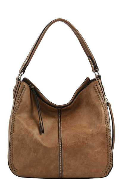 FASHION TRENDY CHIC HOBO BAG WITH LONG STRAP