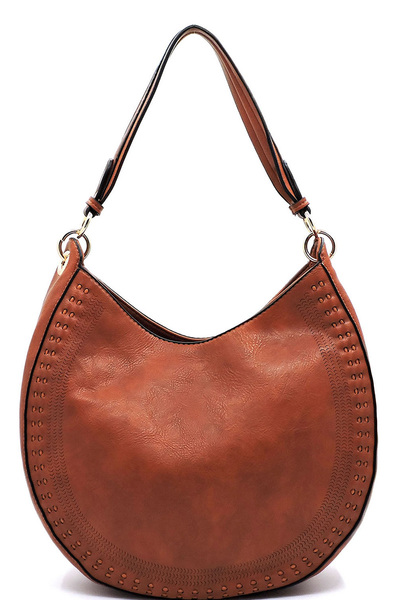 Fashion Laser Cut Shoulder Bag Hobo