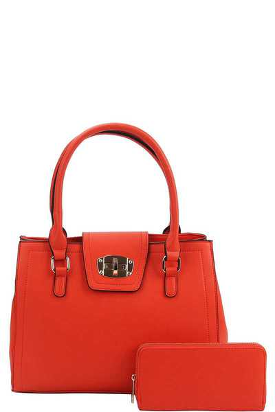 2IN1 MODERN CLASSY SATCHEL WITH MATCHING WALLET