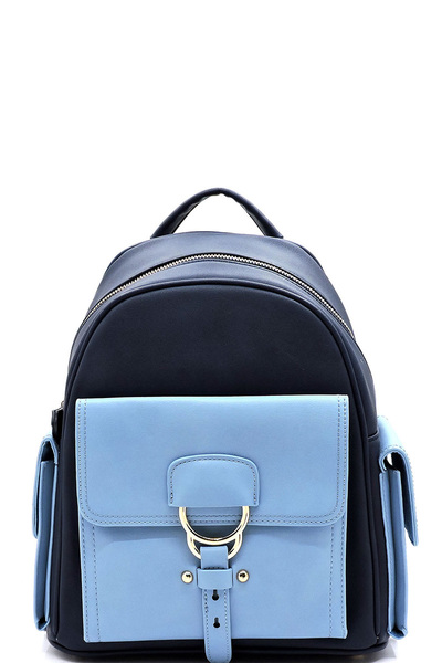 Fashion Colorblock Backpack