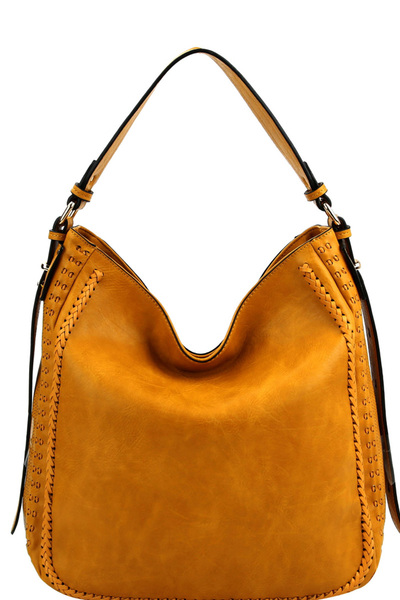 Braid Accent Extendable Single Strap Hobo