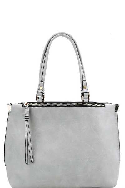 FASHION CHIC STYLISH SATCHEL WITH LONG STRAP