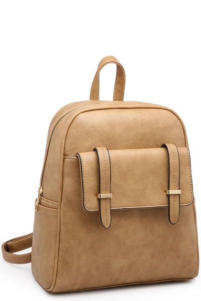 Fashion Flap Backpack
