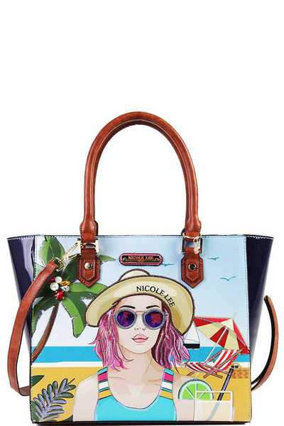 Nicole Lee BEACH DAY SHOPPER BAG